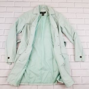 Eddie Bauer Jackets & Coats - Eddie Bauer Mint Trench Coat